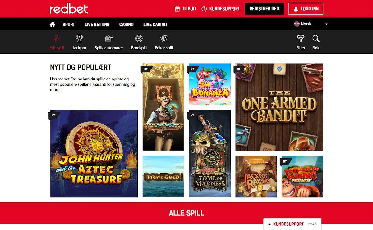 Redbet Com Casino